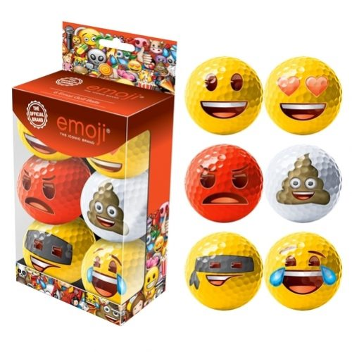 Emoji Golfbälle