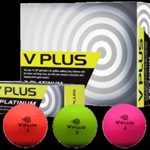 V Plus Golfbälle in mehreren Farben